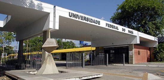 Foto da entrada da UFPA Belém