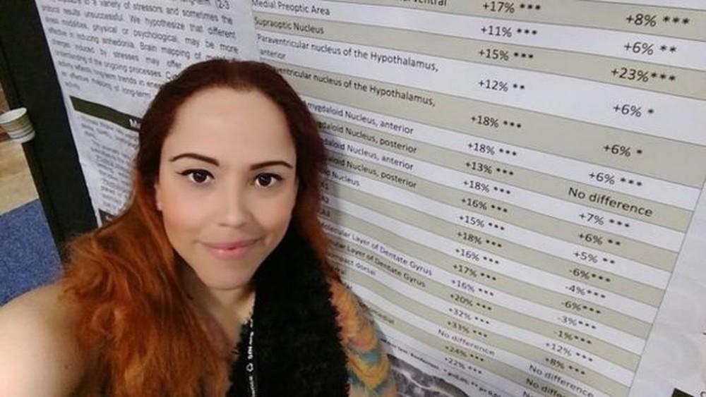 Karen Carvalho, doutora em neurociências, hoje trabalha como corretora de imóveis (Foto: Arquivo Pessoal)